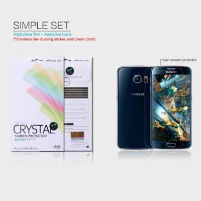 Samsung Galaxy S6 Kirkas Nillkin Näytön Suojakalvo