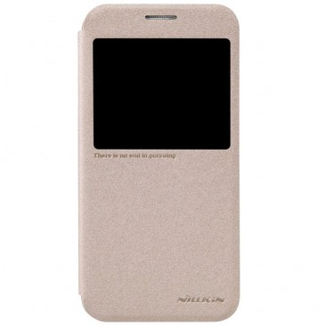 Samsung Galaxy S6 Kultainen Nillkin Suojakuori