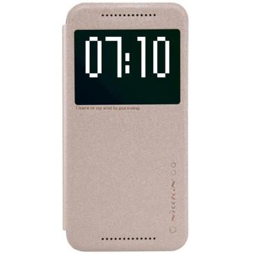 HTC One M9 Suojakotelo Kultainen Nillkin Sparkle