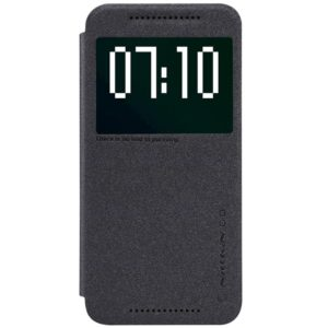 HTC One M9 Suojakotelo Musta Nillkin Sparkle