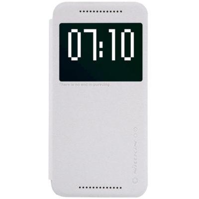 HTC One M9 Suojakotelo Valkoinen Nillkin Sparkle