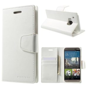 HTC One M9 Valkoinen Sonata Lompakkokotelo