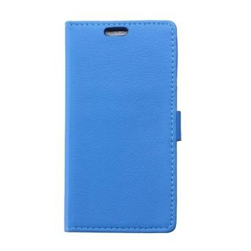 LG Leon 4G LTE Lompakko Suojakuori Sininen