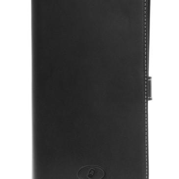Microsoft Lumia 640 XL LTE Nahkakotelo Musta Insmat