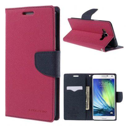 Samsung Galaxy A7 Suojakotelo Pinkki Fancy