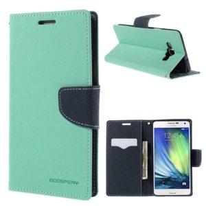 Samsung Galaxy A7 Suojakotelo Syaani Fancy