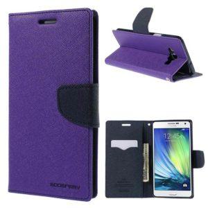 Samsung Galaxy A7 Suojakotelo Violetti Fancy