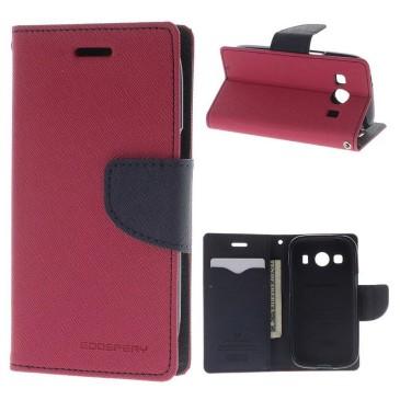 Samsung Galaxy Ace 4 Kotelo Pinkki Fancy