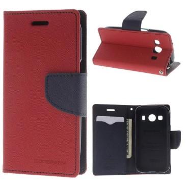 Samsung Galaxy Ace 4 Kotelo Punainen Fancy