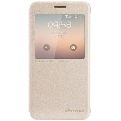 Samsung Galaxy Alpha Suojakuori Kultainen Nillkin Sparkle