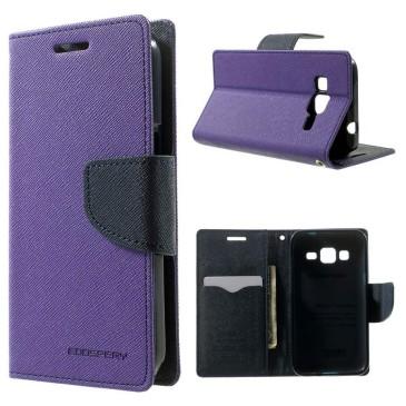 Samsung Galaxy Core Prime Kotelo Violetti Fancy