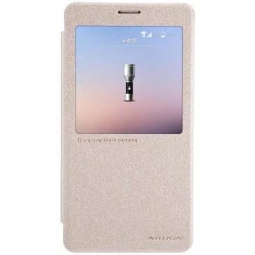 Samsung Galaxy Note 4 Kotelo Kultainen Nillkin Sparkle