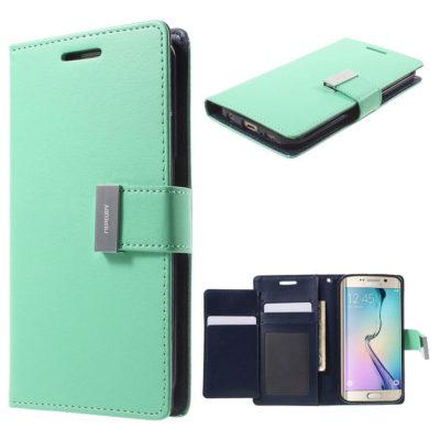 Samsung Galaxy S6 Edge Kotelo Rich Diary Syaani