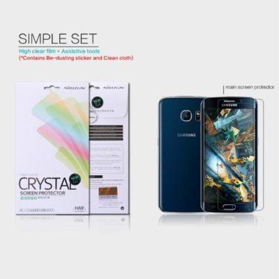 Samsung Galaxy S6 Edge Näytön Suojakalvo Kirkas Nillkin