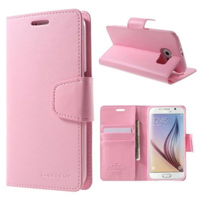 Samsung Galaxy S6 Suojakotelo Sonata Vaaleanpunainen
