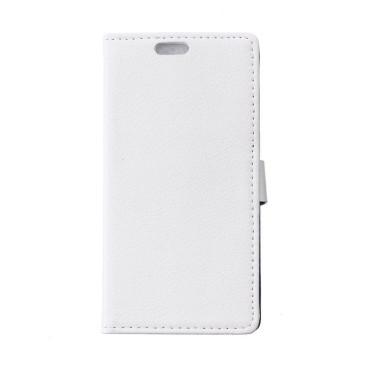 Sony Xperia E4g Valkoinen Lompakko Suojakotelo