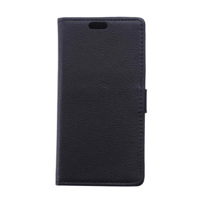 Huawei P8 Lite Musta Lompakko Suojakotelo