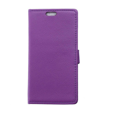 Huawei P8 Lite Violetti Lompakko Suojakotelo