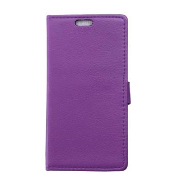 Samsung Galaxy Xcover 3 Violetti Lompakkokotelo