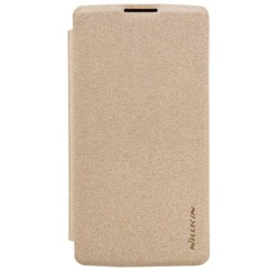 LG Leon 4G LTE Suojakuori – Nillkin Sparkle Kulta