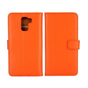Huawei Honor 7 Suojakotelo Oranssi Nahka