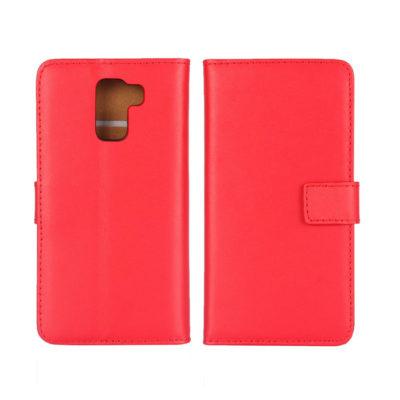 Huawei Honor 7 Suojakotelo Punainen Nahka