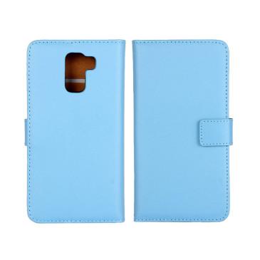 Huawei Honor 7 Suojakotelo Sininen Nahka