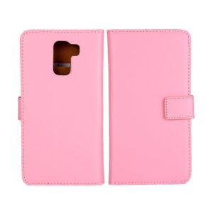 Huawei Honor 7 Suojakotelo Vaaleanpunainen Nahka