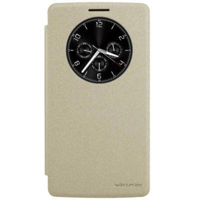 LG G4 Stylus Kultainen Nillkin Sparkle Kotelo