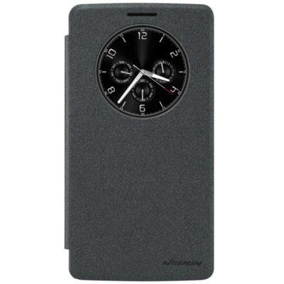 LG G4 Stylus Musta Nillkin Sparkle Kotelo