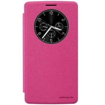 LG G4 Stylus Pinkki Nillkin Sparkle Kotelo