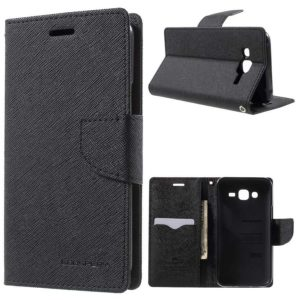 Samsung Galaxy J5 Suojakotelo Musta Fancy
