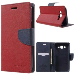 Samsung Galaxy J5 Suojakotelo Punainen Fancy