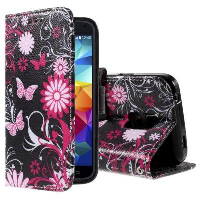 Samsung Galaxy S5 Mini Suojakotelo – Perhonen 2