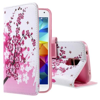 Samsung Galaxy S5 Suojakotelo Kukka 2