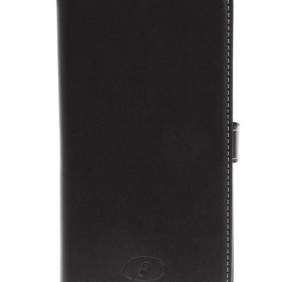 LG G4 H815 Musta Insmat Nahka Suojakotelo