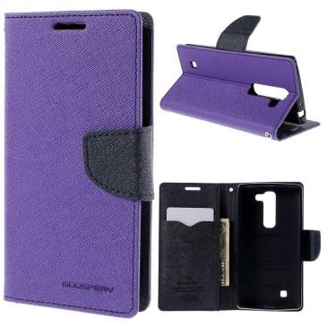 LG G4c Lompakko Suojakuori Violetti Fancy