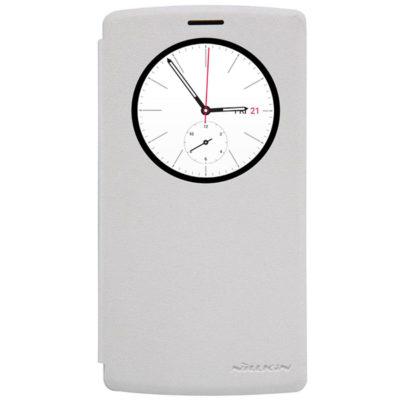LG G4s H735 Suojakuori Nillkin Sparkle Valkoinen
