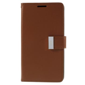 Samsung Galaxy S6 Edge+ 5.7″ Kotelo Ruskea Rich Diary