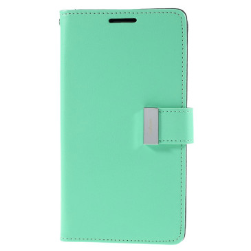 Samsung Galaxy S6 Edge+ 5.7″ Kotelo Syaani Rich Diary
