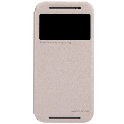 HTC One M8 Suojakuori Nillkin Sparkle Kulta