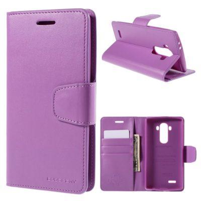 LG G4 H815 Lompakkokotelo Sonata Violetti