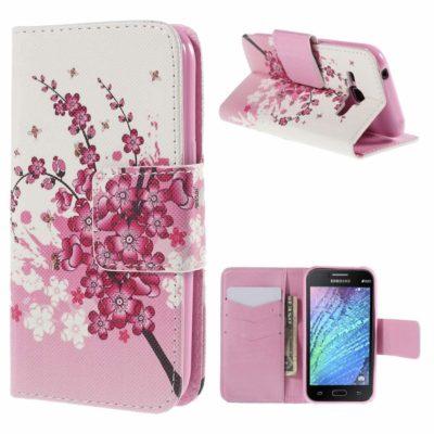 Samsung Galaxy J1 Suojakotelo Kukka 1