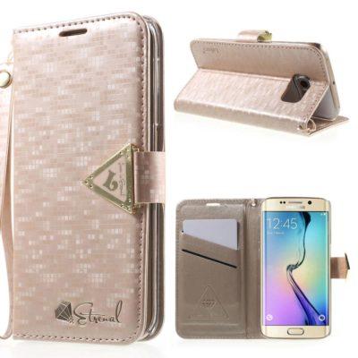 Samsung Galaxy S6 Edge Kotelo Leiers Vaaleanpunainen