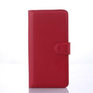 HTC Desire 626 Suojakotelo Punainen Lompakko