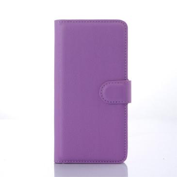 HTC Desire 626 Suojakotelo Violetti Lompakko