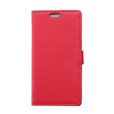 Huawei Honor 4C Suojakotelo Punainen Lompakko