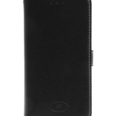 Huawei Y6 Musta Insmat Nahkakotelo