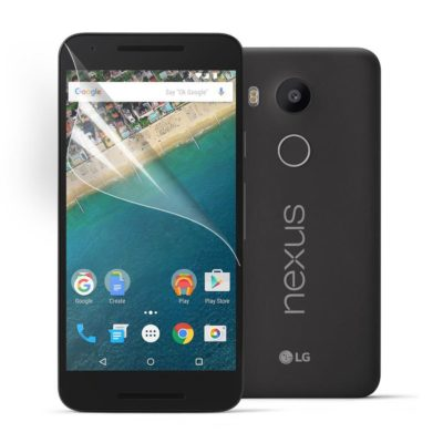 LG Nexus 5X Kirkas Näytön Suojakalvo