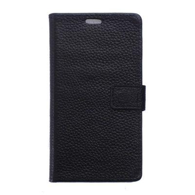 LG Nexus 5X Nahkakotelo Musta Lompakko